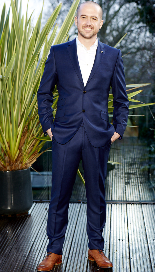 Slimming World's Mr Sleek 2015, David Eyres after weight loss