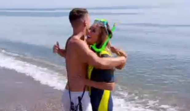 Charlotte Crosby and Gary Beadle meet on Ex On The Beach MTV