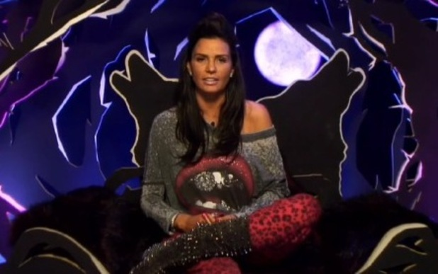 Katie Price answers viewers' questions in the Diary Room - 28 Jan 2015
