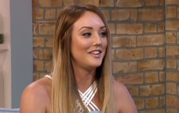 Charlotte Crosby appears on This Morning, ITV studios, London 30 January