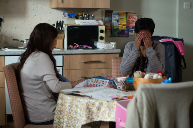EastEnders, Shabnam confesses to Stacey, Thu 29 Jan