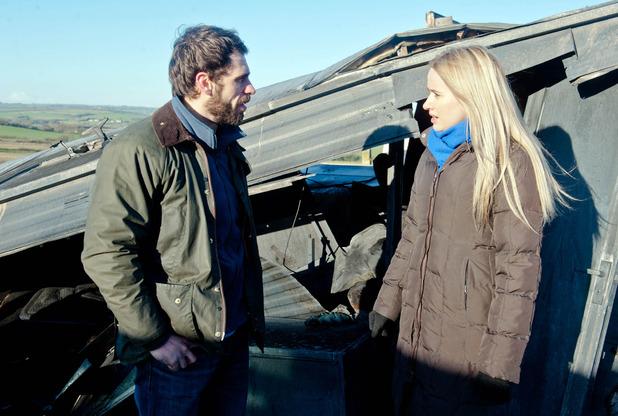 Emmerdale, Andy tells Katie to leave it, Tue 3 Feb