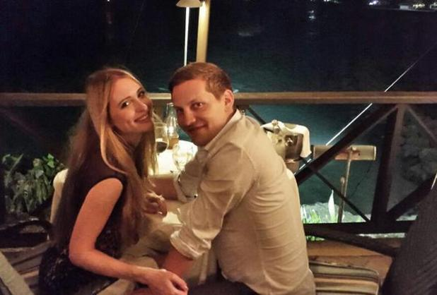 Hollyoaks' James Sutton announces engagement to girlfriend Kit Williams on holiday in Barbados, 30 Jan 2015
