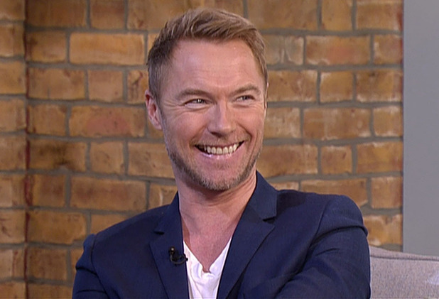 Ronan Keating appears on This Morning - 27 January 2015