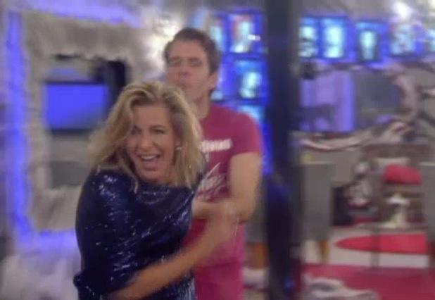 Perez Hilton tries to lick Katie Hopkins in CBB - 28 January 2015