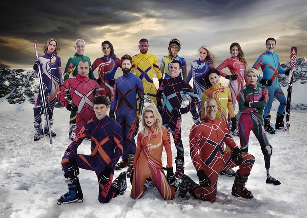 The Jump, full cast shot, Sun 1 Feb
