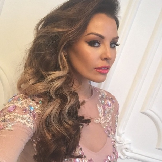 TOWIE's Jessica Wright flaunts long hair extensions during a photoshoot for Whitney Marie - 30 January 2015