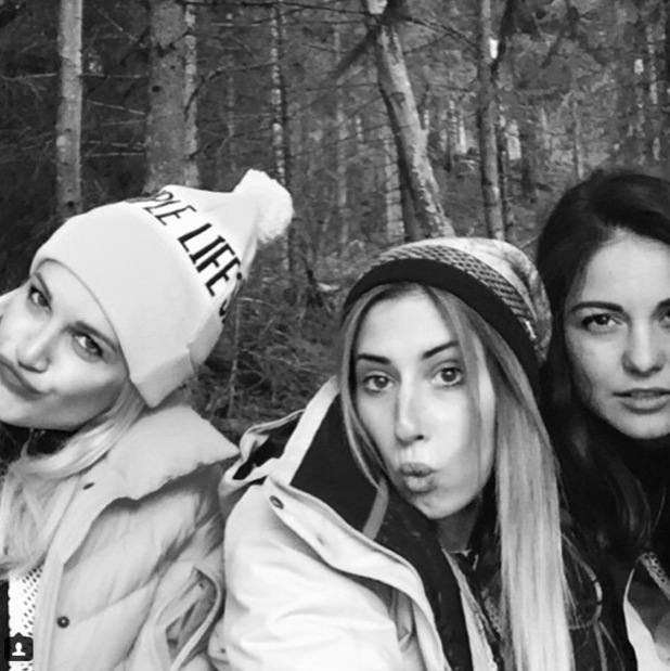 Stacey Solomon The Jump Instagram Shot with Ashley Roberts & Louise Thompson
