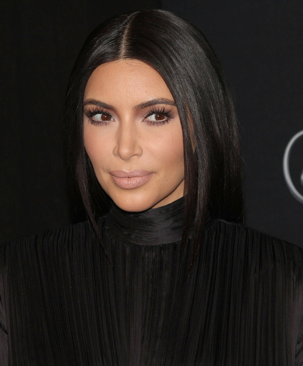 Kim Kardashian West attends the BET Honours 2015 event in Washington, America - 24 January 2015