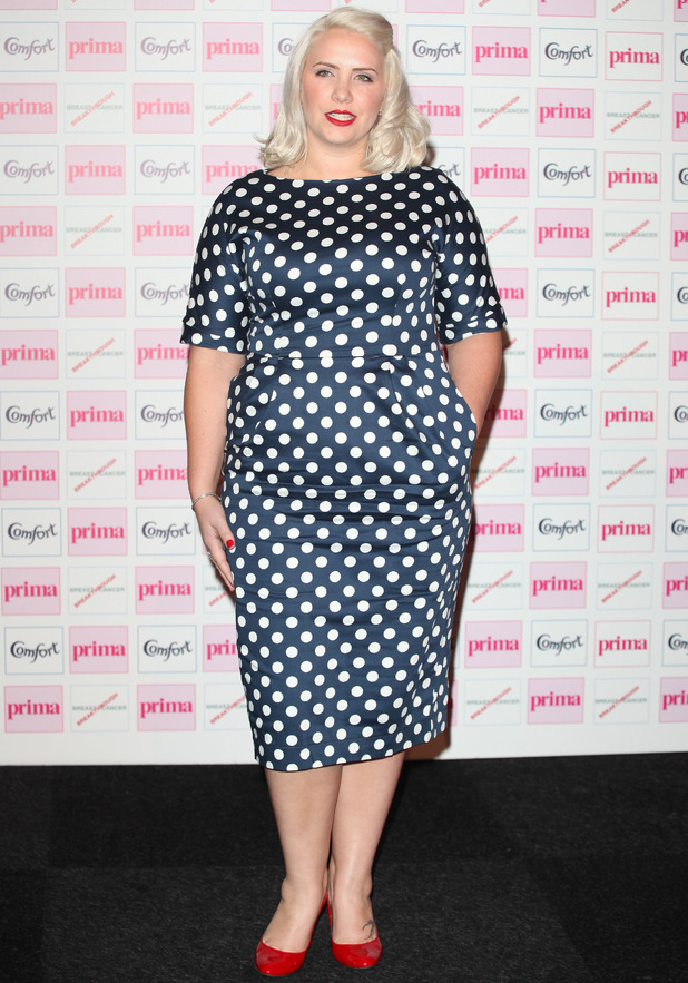 Claire Richards The Comfort Prima High Street Fashion Awards at Battersea Evolution Marquee - Arrivals London, England - 13.09.12