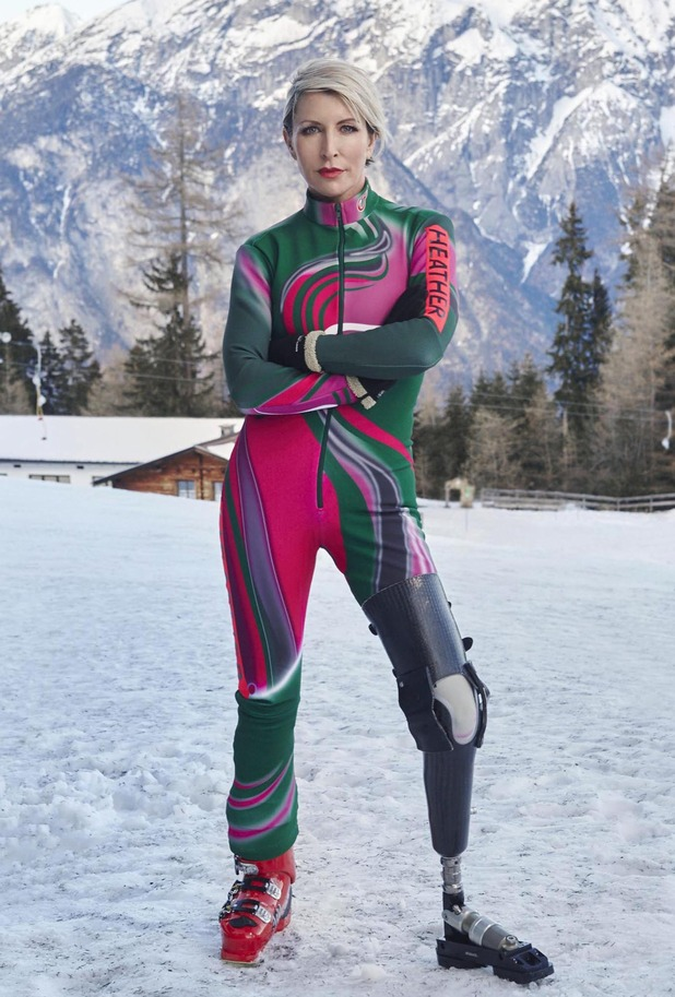 The Jump series two competitor philanthropist Heather Mills - February 2015.