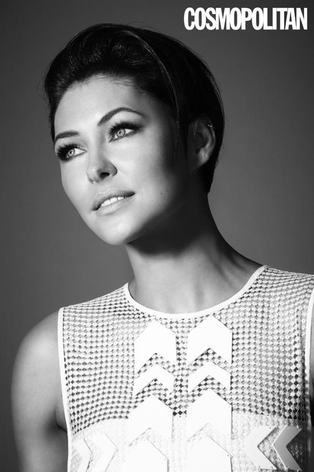 Emma Willis looks gorgeous in photo shoot for Cosmopolitan magazine, 31 January 2015