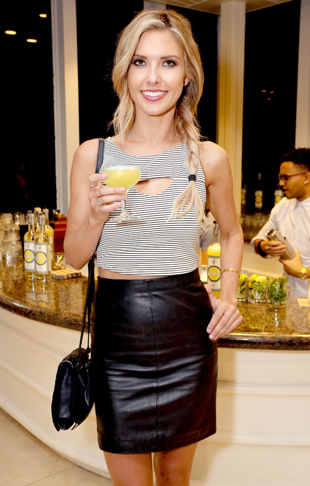 Audrina Patridge attends the Time To Drink Different campaign launch hosted by Snoop Dogg and Brazilian Spirit Cuca Fresca in Los Angeles, America - 26 January 2015