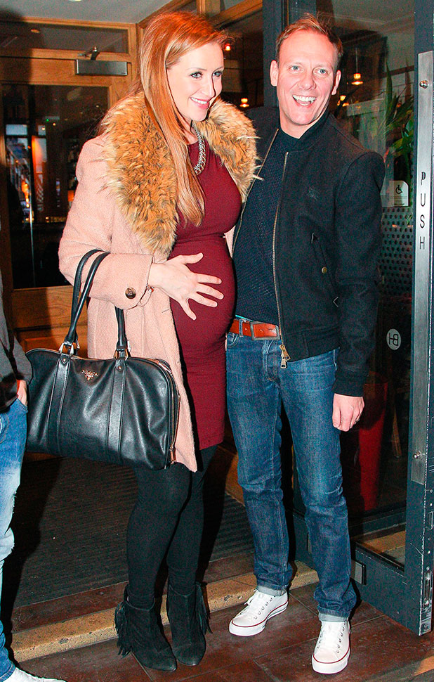 Catherine Tyldesley and Antony Cotton out and about, Manchester, Britain - 25 Jan 2015