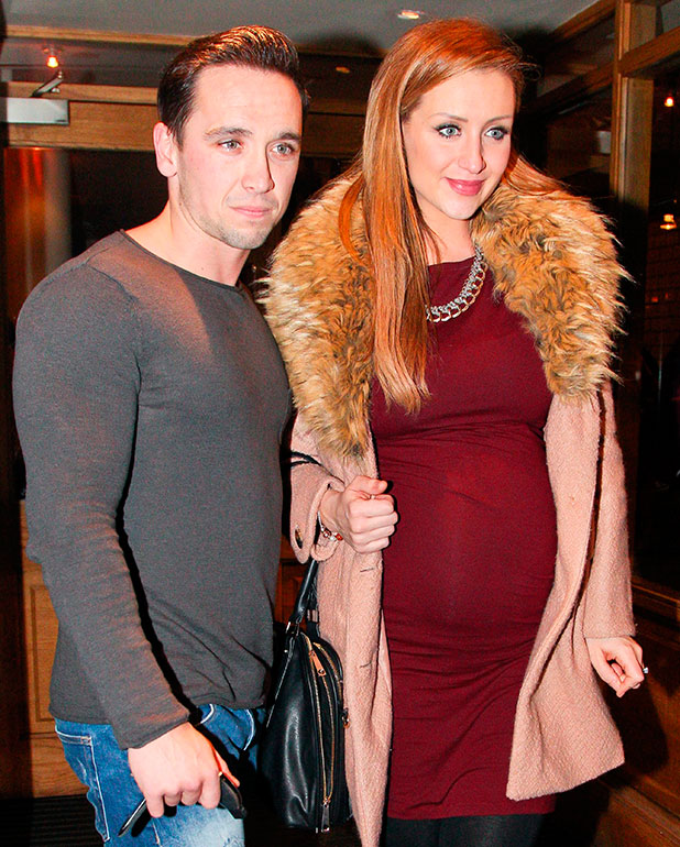 Catherine Tyldesley out and about, Manchester, Britain - 25 Jan 2015
