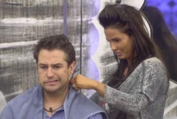 CBB: Katie Price cuts Kavana's hair, 26 January 2015