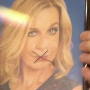CBB: Perez Hilton draws over picture of Katie Hopkins, 27 January 2015
