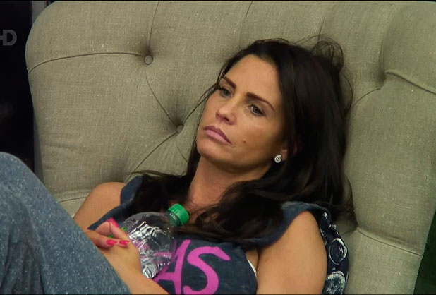 Katie Price on Celebrity Big Brother, Shown on Channel 5 HD, 2015