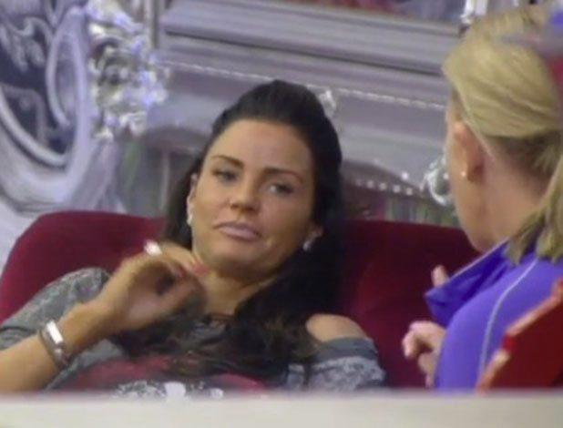 CBB: Katie Price thinks Cami Li is being off with her, 26 January 2015