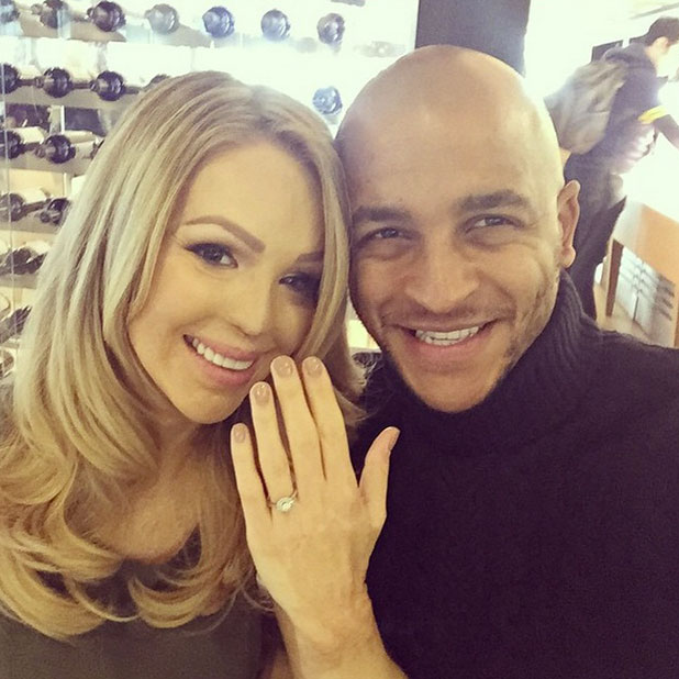 Katie Piper shares rare photo of herself and fiance James Sutton, 25 January 2015