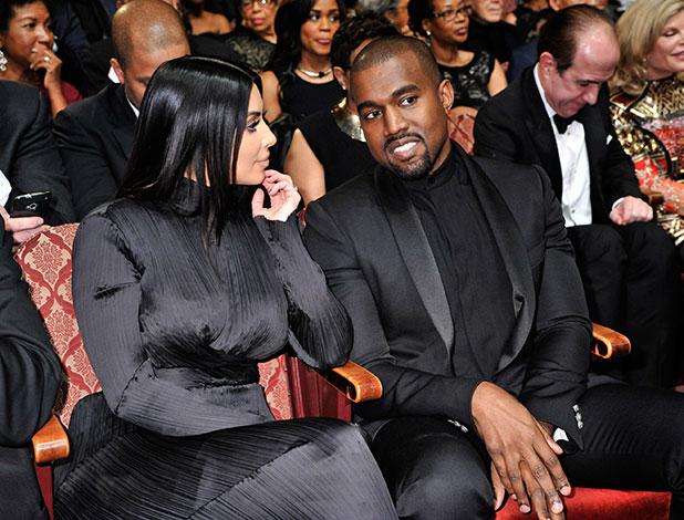 Kim Kardashian, Kanye West, Wayne Brady attend BET Honors' 2015 at Warner Theatre on January 24, 2015 in Washington, DC.