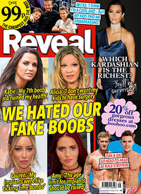 Reveal magazine cover, issue 5, 2015