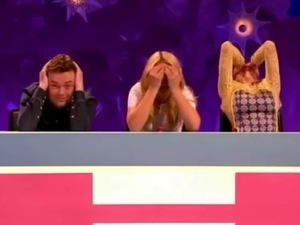 Joey Essex leaves Celebrity Juice audience in hysterics after confusing Richard and Judy with Adam and Eve - 2013.