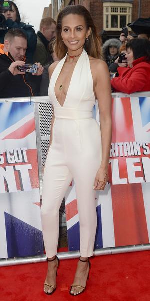 Alesha Dixon attends Britain's got Talent auditions at The Birmingham Hippodrome 5 February
