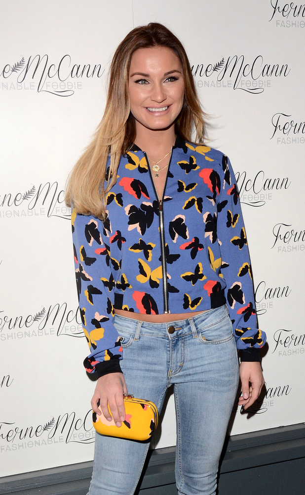 Sam Faiers at Ferne McCann launches her blog 'Fashionable Foodie' at Charlie's Deli (05/02/2015)