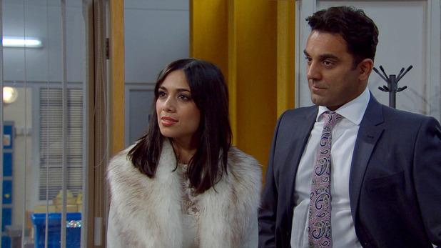 Emmerdale, Priya wants in on business, Mon 9 Feb