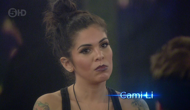 Cami Li on Celebrity Big Brother - 02/02/2015.