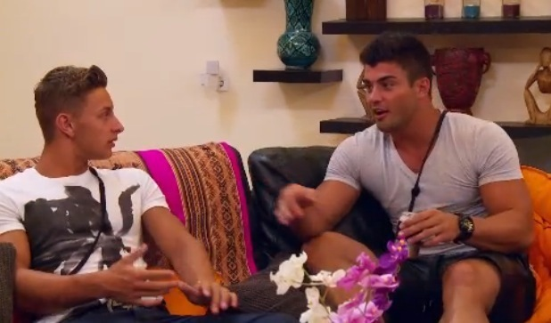 Rogan O'Connor and Connor Hunter discuss Gary Beadle's arrival, Ex On The Beach 6 February