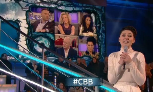 CBB: Emma Willis introduces finale of show, 6 February 2015