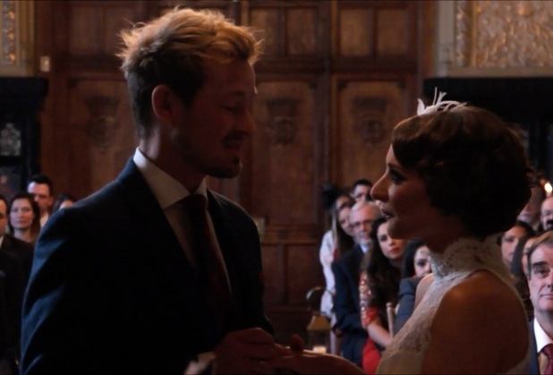 Adam Rickitt and Katy Fawcett share their wedding video with fans - 2 Feb 2015