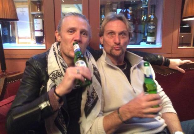 I'm A Celebrity... Get Me Out Of Here! stars Jimmy Bullard and Carl 'Foggy' Fogarty reunite in London - 4 February 2015.