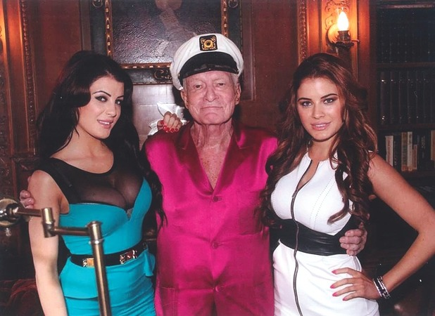 Carla and Melissa Howe, The playboy mansion is like an old people's home now