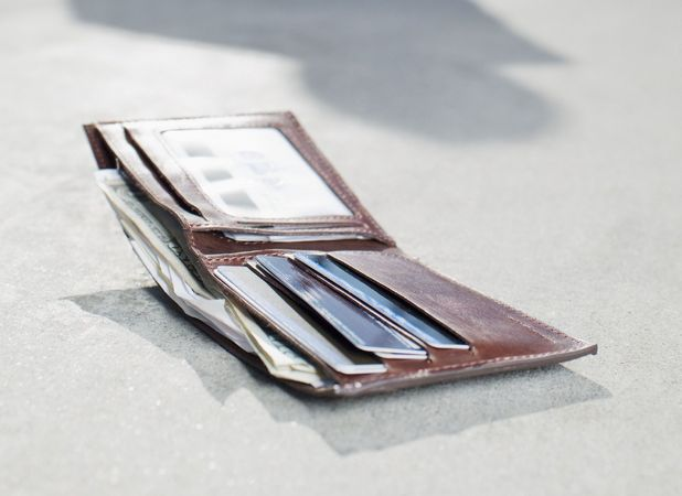 Daniel Dymond, reunited with wallet two years after he dropped it into the sea