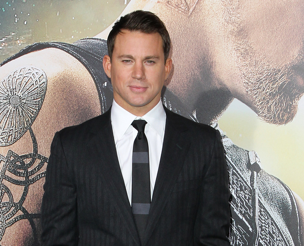 Channing Tatum at Los Angeles premiere of 'Jupiter Ascending' at TCL Chinese Theatre