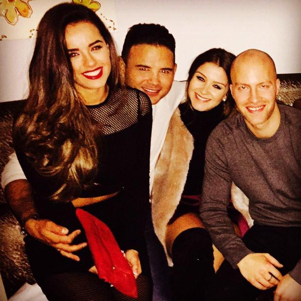 Georgia May Foote, Brooke Vincent and Ryan Thomas party in Manchester - 05 Feb 2015.