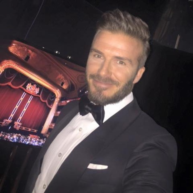 David Beckham arrives at the EE British Academy Film Awards held at the Royal Opera House , 8 February 2015