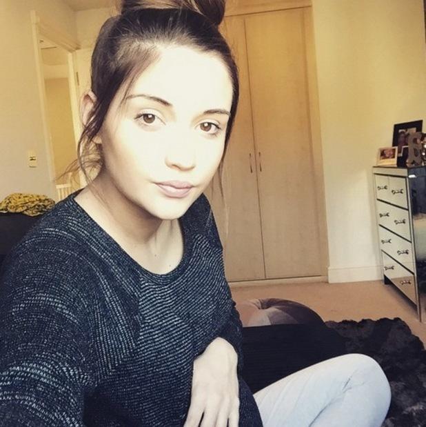 Jacqueline Jossa urges baby to hurry up 2 February