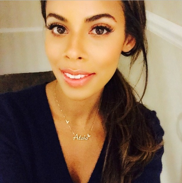 Rochelle Humes, hairdresser Mikey Kardashian and styling team on latest Very UK shoot, 3 February 2015