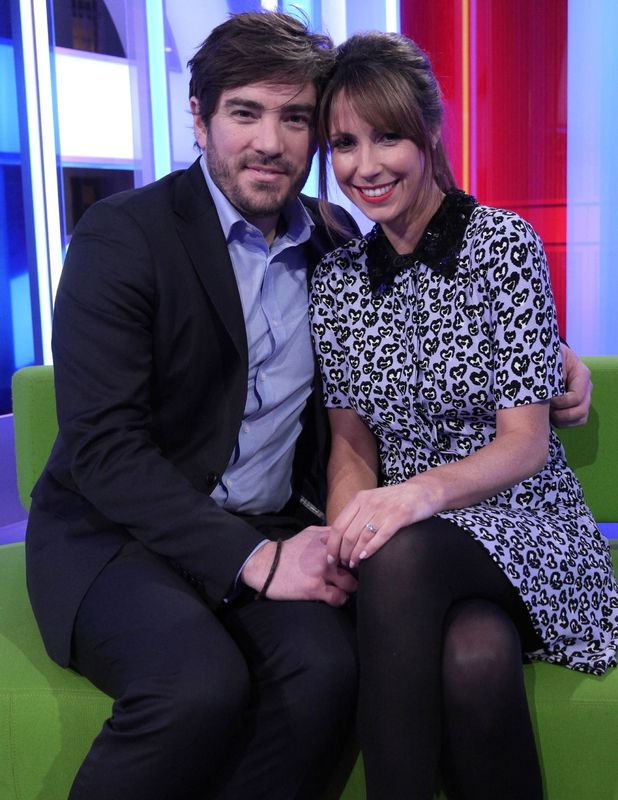 The One Show presenter Alex Jones announces engagement to long time partner Charlie Thomson, 6 Feb 2015