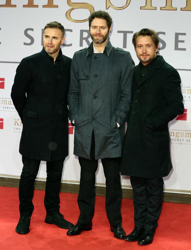 Take That at the German premiere of 'Kingsman - The Secret Service' - 02/03/2015.