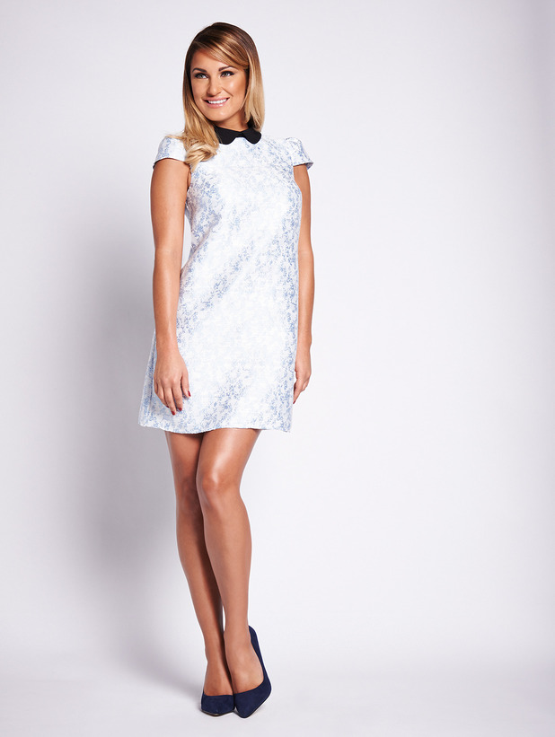 Sam Faiers Dress Sam Faiers Models a Dress From