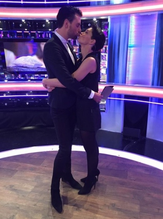Rylan Clark thanks Emma Willis after her BBBOTS exit 2 February