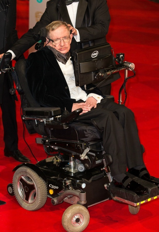 EE British Academy Film Awards held at the Royal Opera House, Covent Garden, 8 February 2015  Professor Stephen Hawking