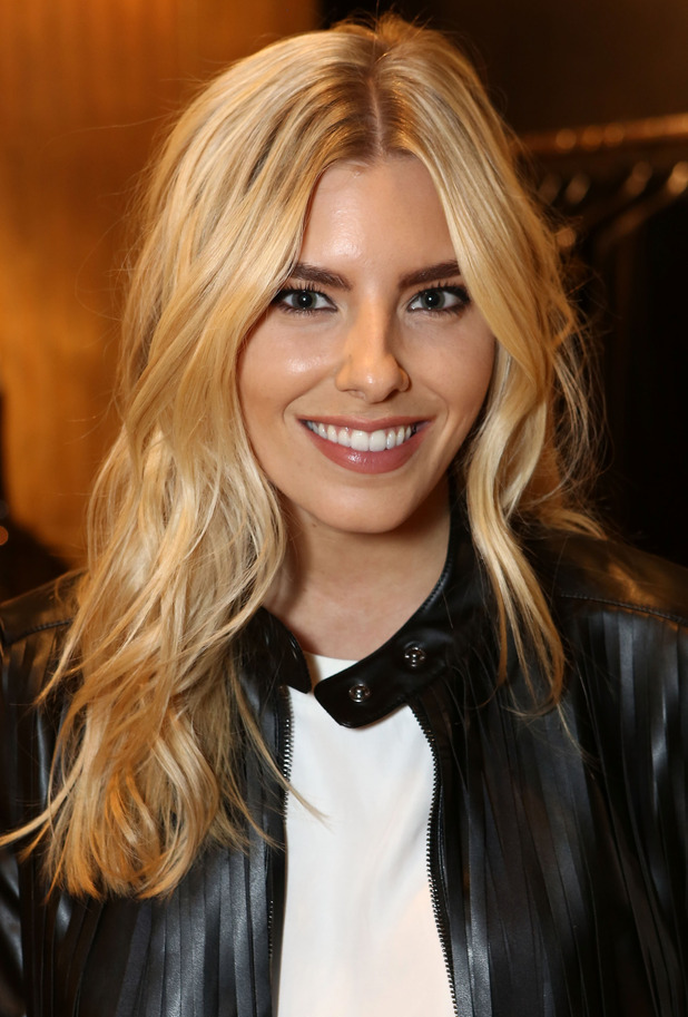 Mollie King attends the launch of the Paul Andrew pop-up at the Donna Karan New York store in London - 28 January 2015