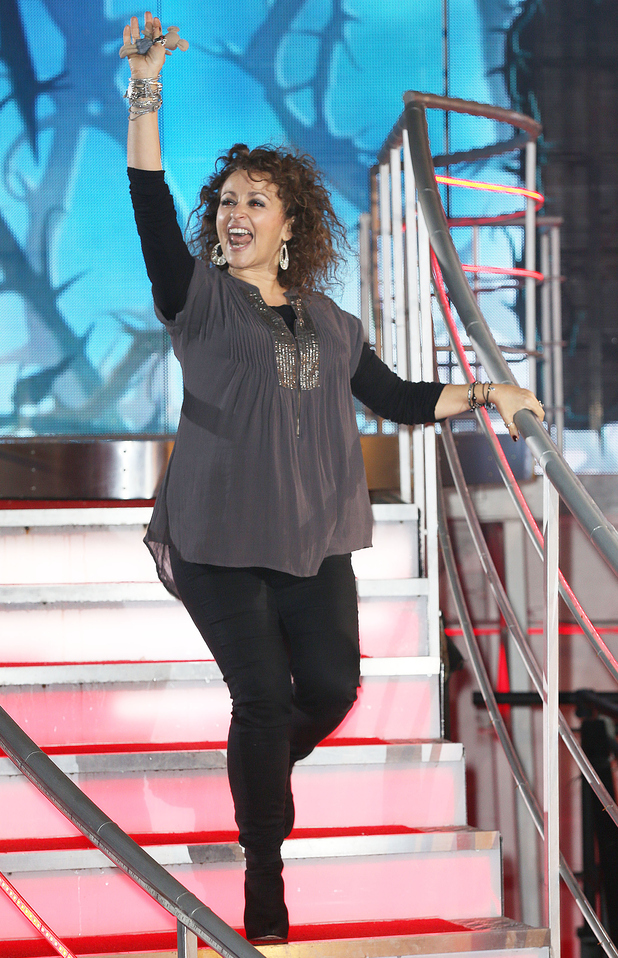 Nadia Sawalha is the 4th housemate evicted from 'Celebrity Big Brother 15' - 01/30/2015
