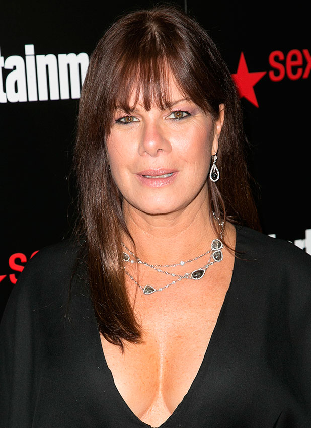 Marcia Gay Harden attends Entertainment Weekly's celebration honoring the 2015 SAG Awards nominees at Chateau Marmont, 2015